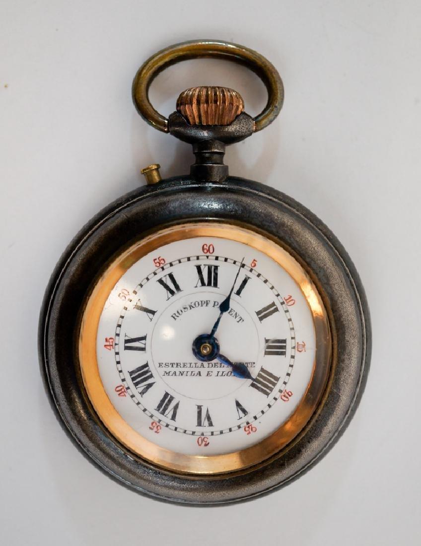 Antique Roskopf Pocket Watch