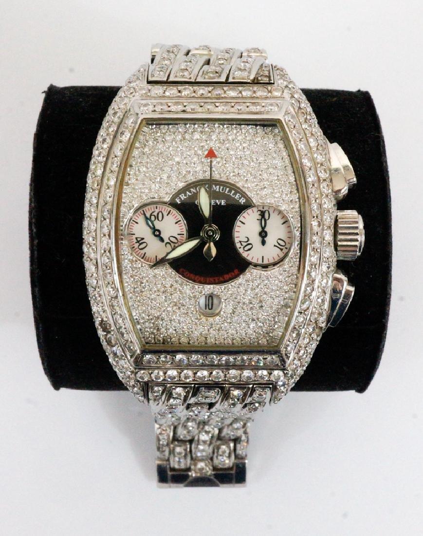 Franck Mueller Conquistador Chronograph Watch