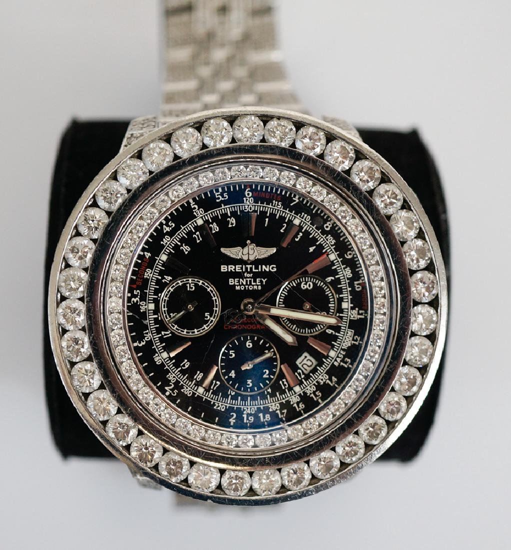 Breitling for Bentley Chronograph Wrist Watch