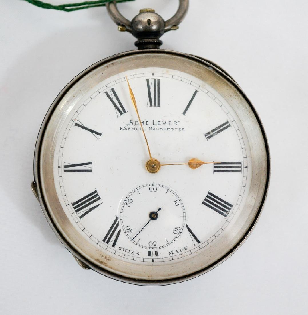H. Samuel Manchester Sterling Silver Watch