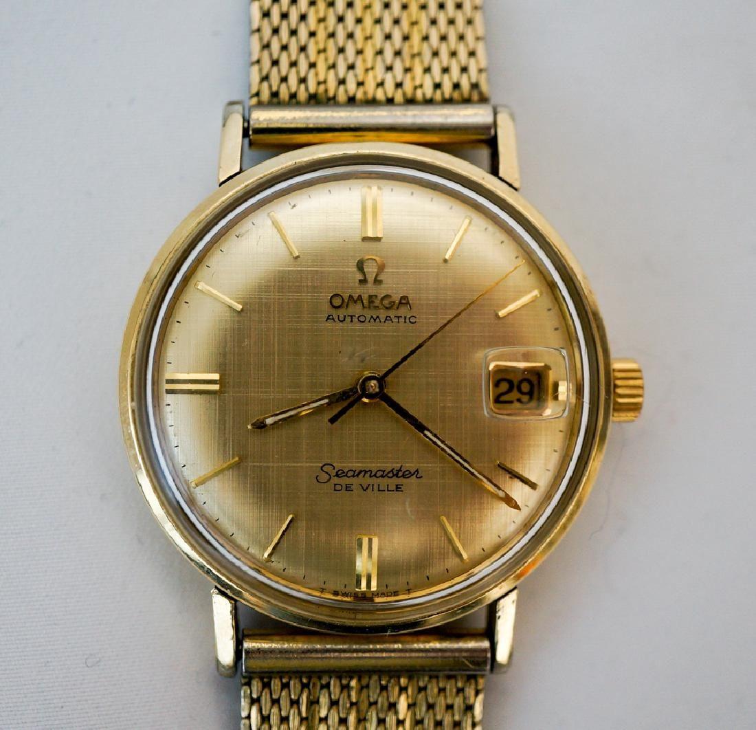 Omega Seamaster Deville 14K Gold Filled Watch