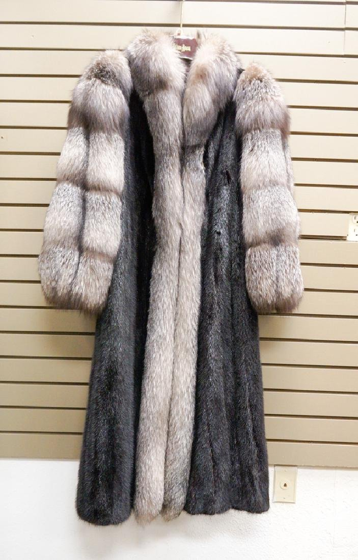 Nordstrom Ranch Mink Female Pelt Mink Coat