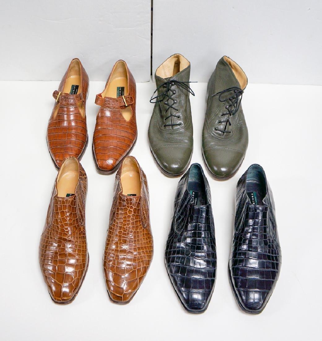 Lot Four (4) Mens Avventura Shoes