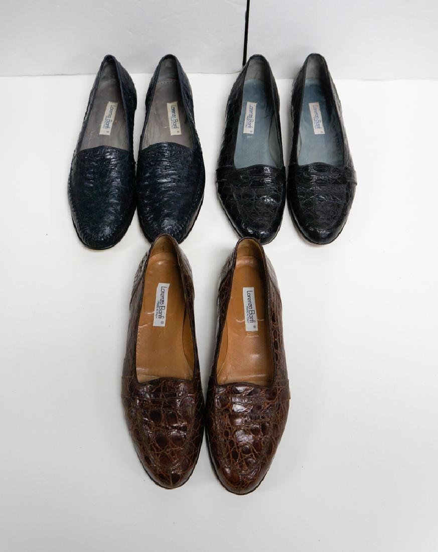 Lot Three (3) Lorenzo Banfi Mens Shoes