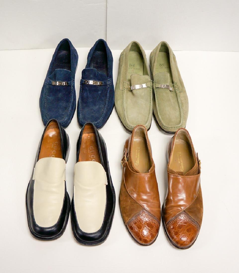 Lot Four (4) Mens Designer Shoes