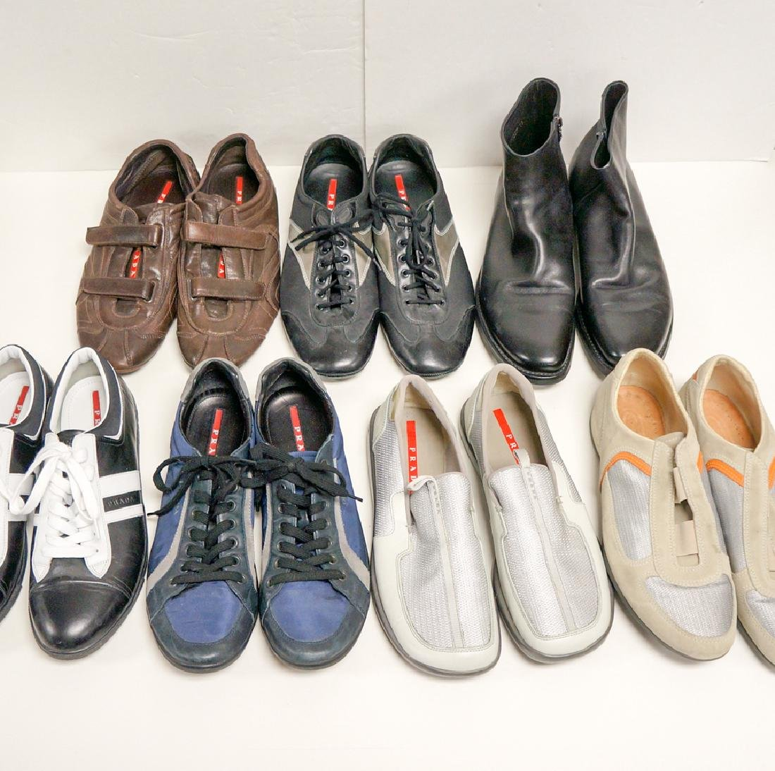 Lot Seven (7) Mens Prada Designer Shoes