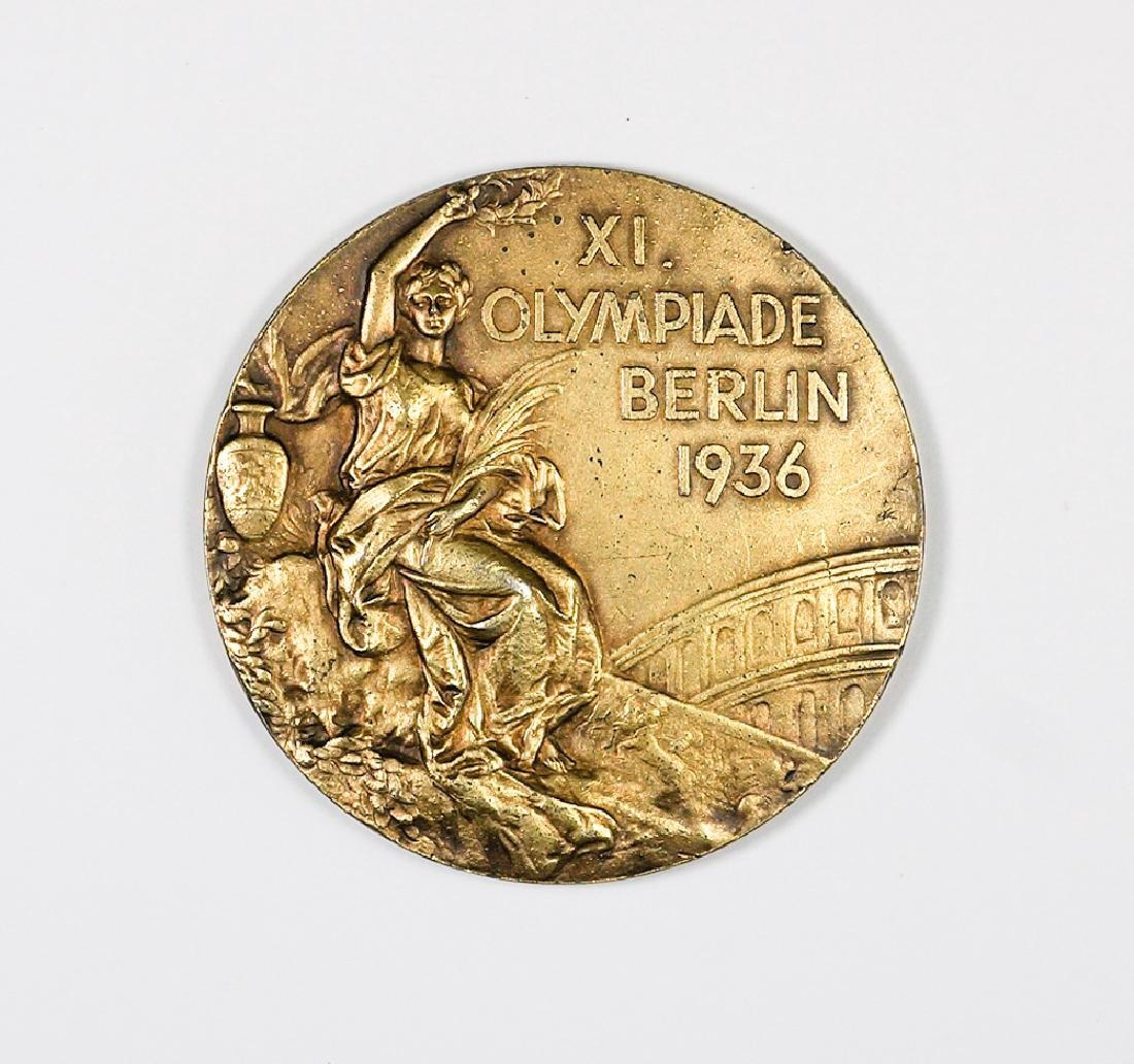 Tex Gibbons 1936 Olympics Basketball Gold Medal