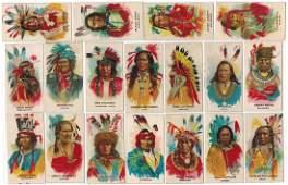 BAT Indian Chiefs Cigarette Card Set
