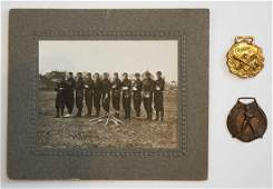 Antique Baseball Photo and Watch Fobs