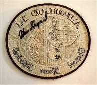 Astronaut Alan Shepard Signed Patch
