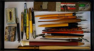Group of Vintage Fountain Pens etc.