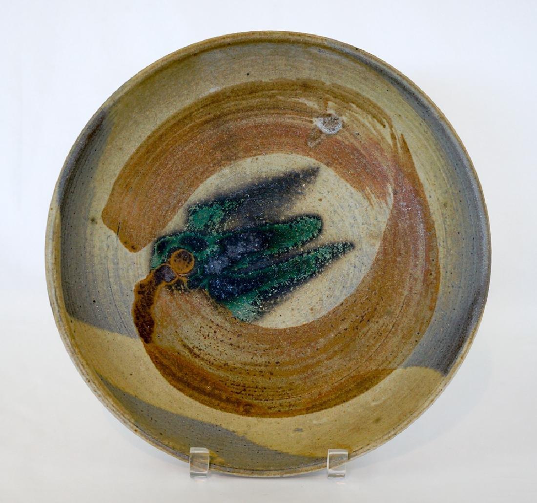 Toshiko Takaezu Studio Pottery Bowl