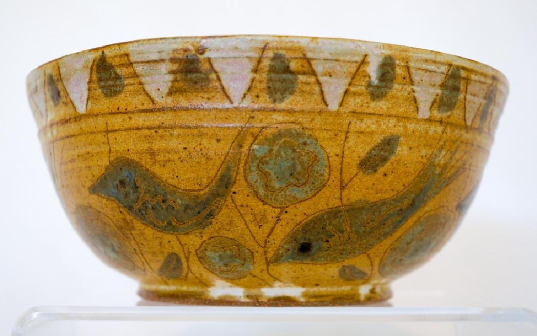 Frances Senska (1914-2009) Pottery Bowl