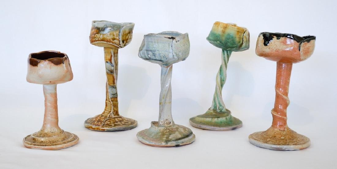 Josh DeWeese Studio Pottery Floral Stems