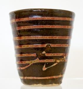 Jun Kaneko (born 1942) Studio Pottery Cup