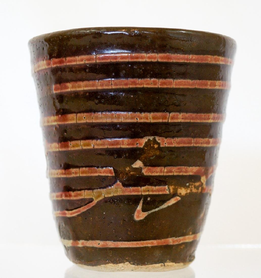 Jun Kaneko (born 1942) Studio Pottery Cup