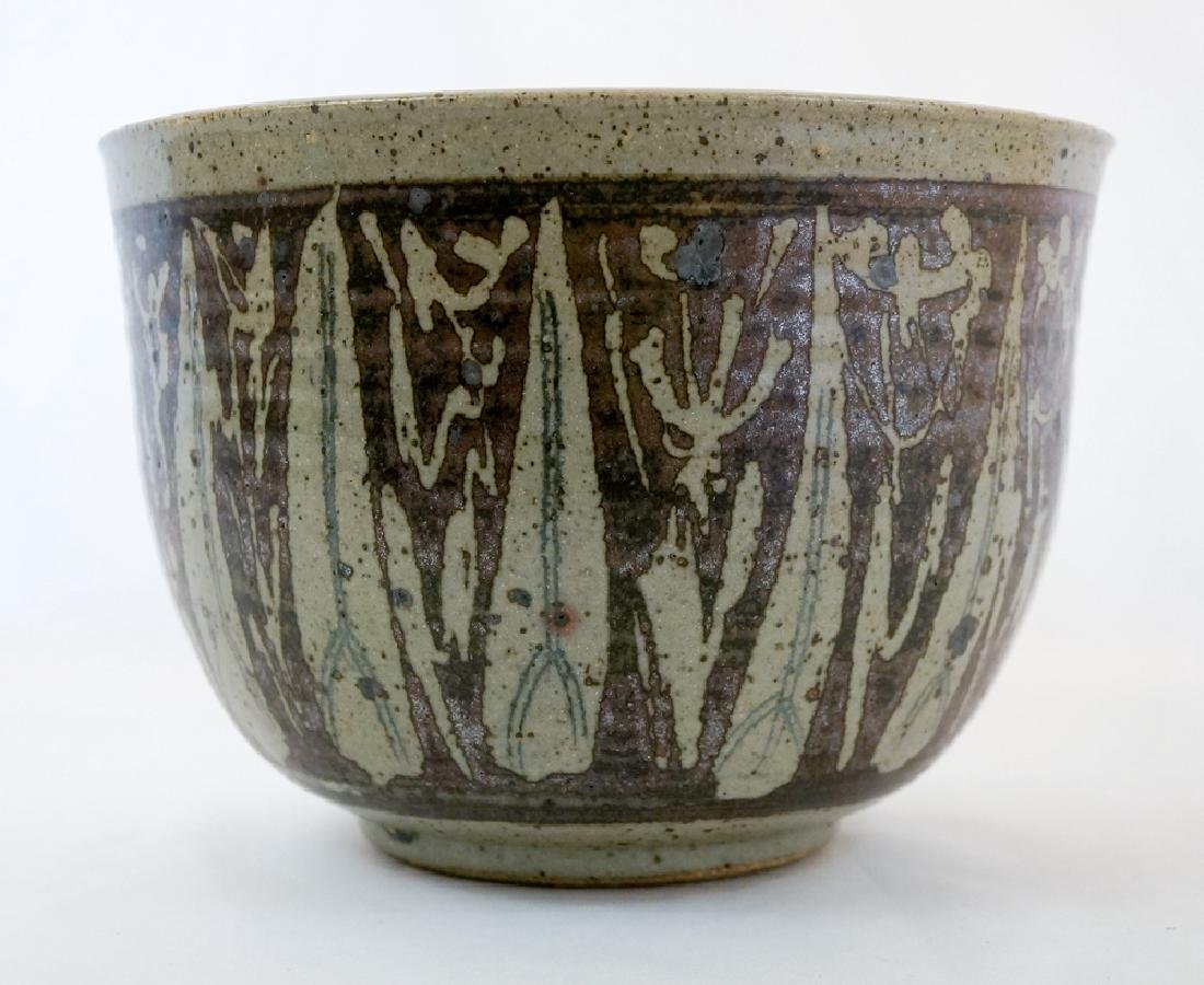James and Nan McKinnell Studio Pottery Planter