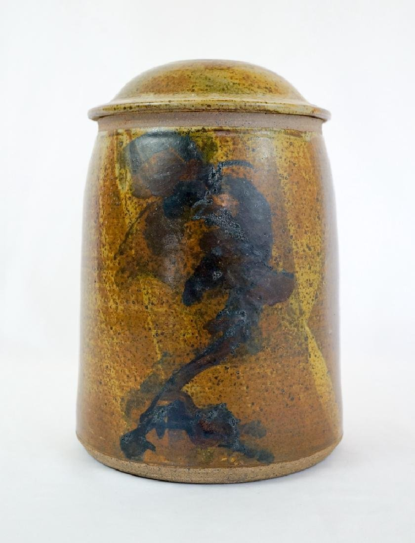 Jerry Glenn (Oregon, 1936-) Pottery Covered Jar