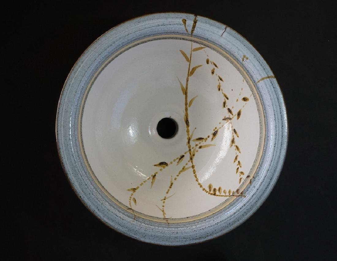 Montana Archie Bray Studio Pottery Vessel Sink
