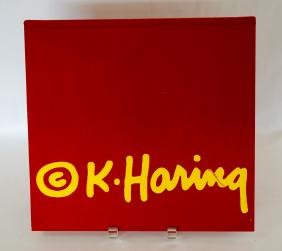 Keith Haring Hardcover Book By Elisabeth Sussman