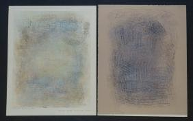 Robert Natkin (il/ny, 1930-2010) Two Signed Pieces
