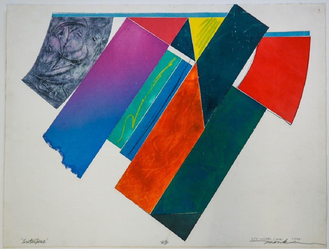 Jerry Rankin (Montana, b. 1936) Silkcreen Print