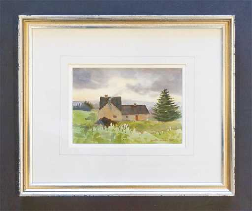 Martin Ahearn A.W.S (1918-2009) Framed Watercolor