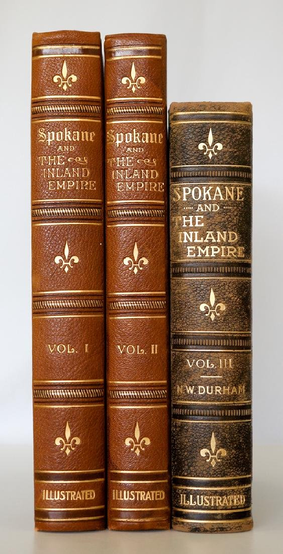 Spokane and the Inland Empire, 3 Volumes, 1912