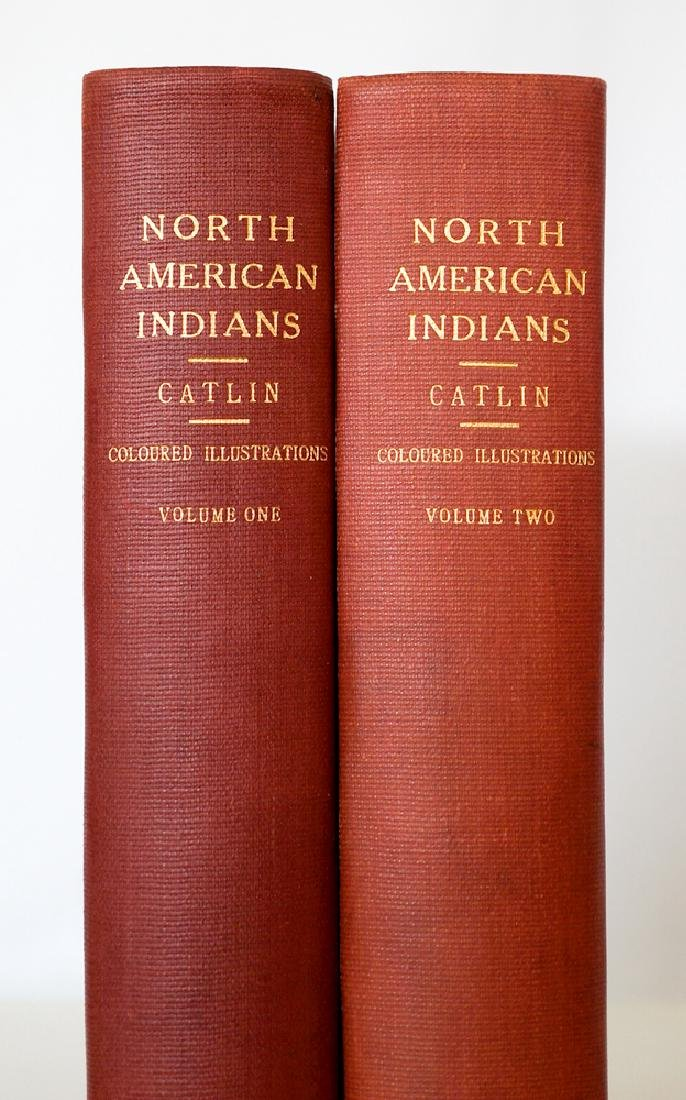 Catlin, George North American Indians, 2 Vol's