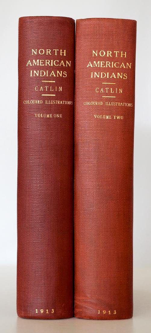 Catlin, George North American Indians, 2 Vol's - 2