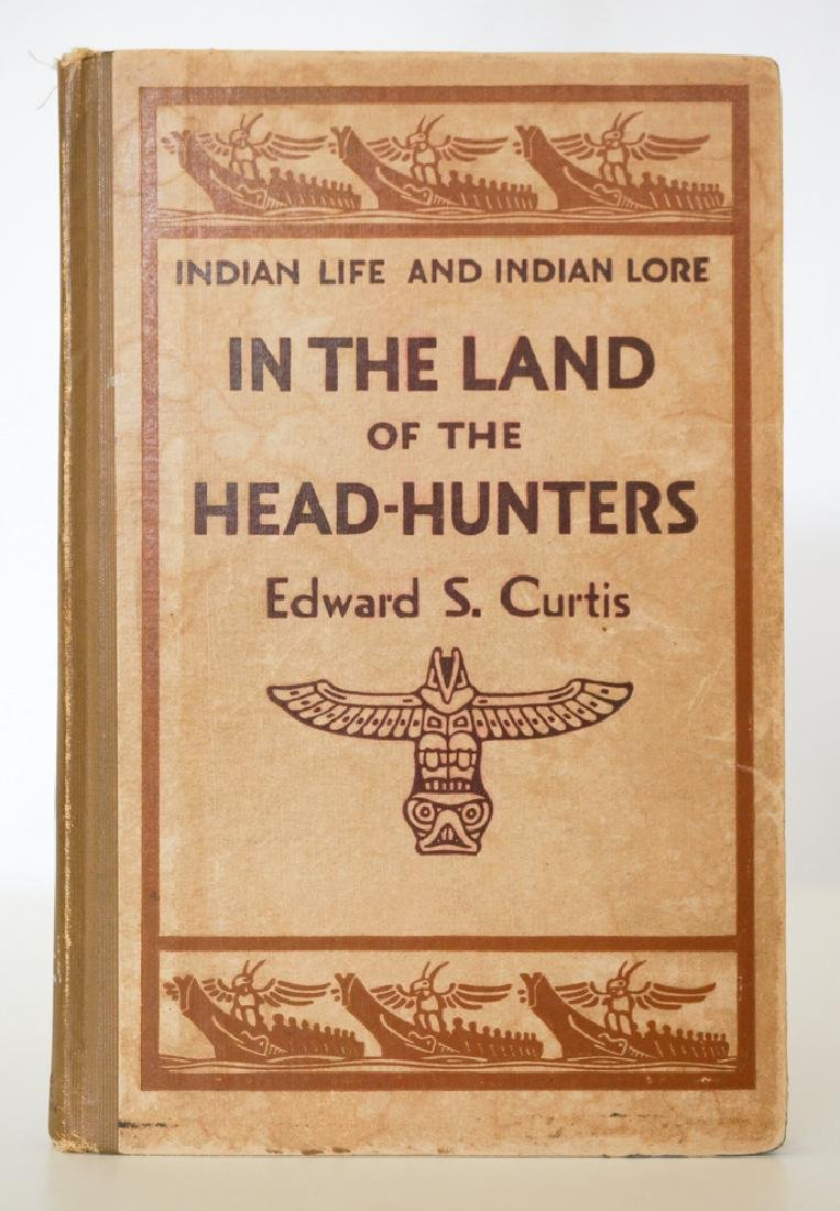 Edward Curtis In The Land of the Head-Hunters 1st