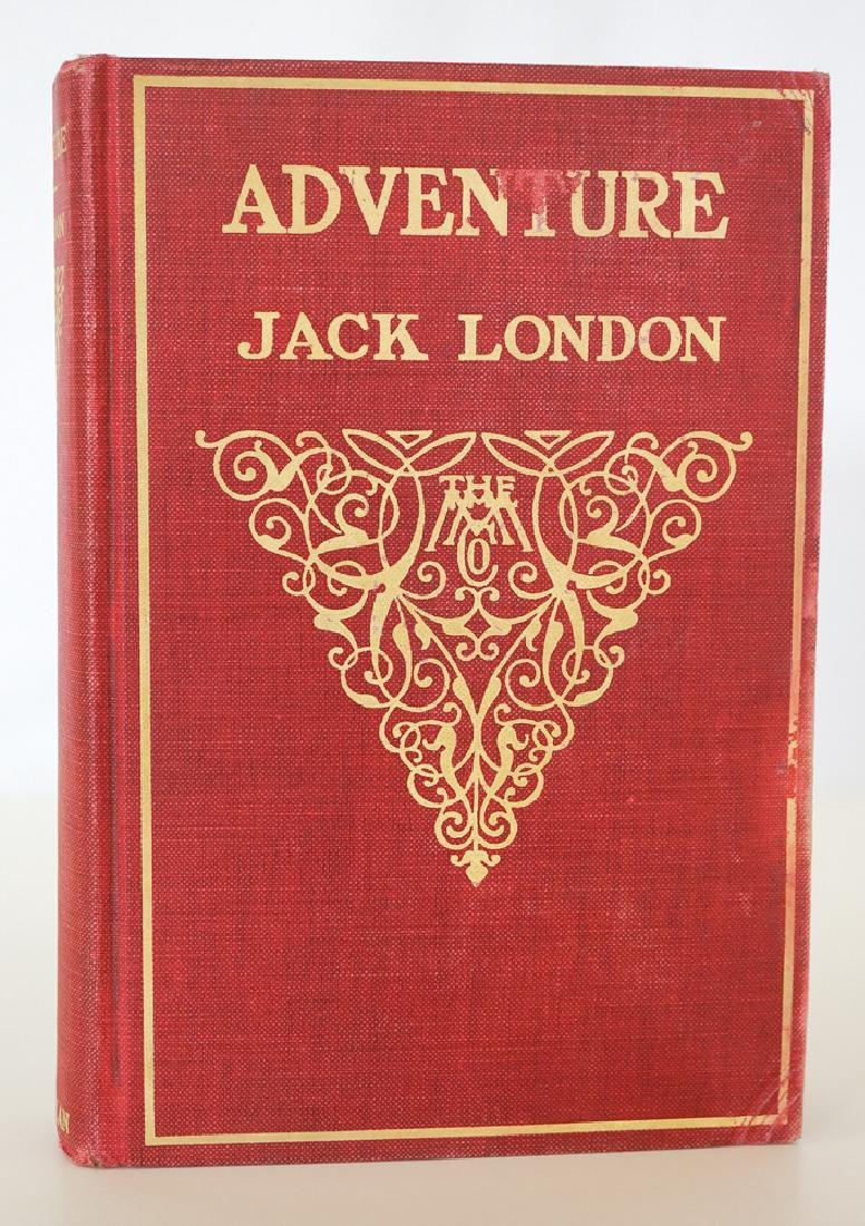 Jack London, Adventure 1911 First Edition - 3