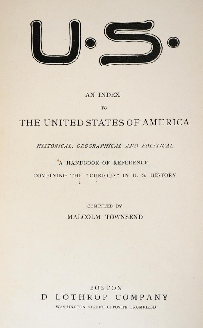 U.S. An Index by Malcolm Townsend - 4