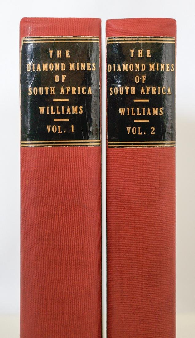 The Diamond Mines of South Africa, 1905, Two Vol's
