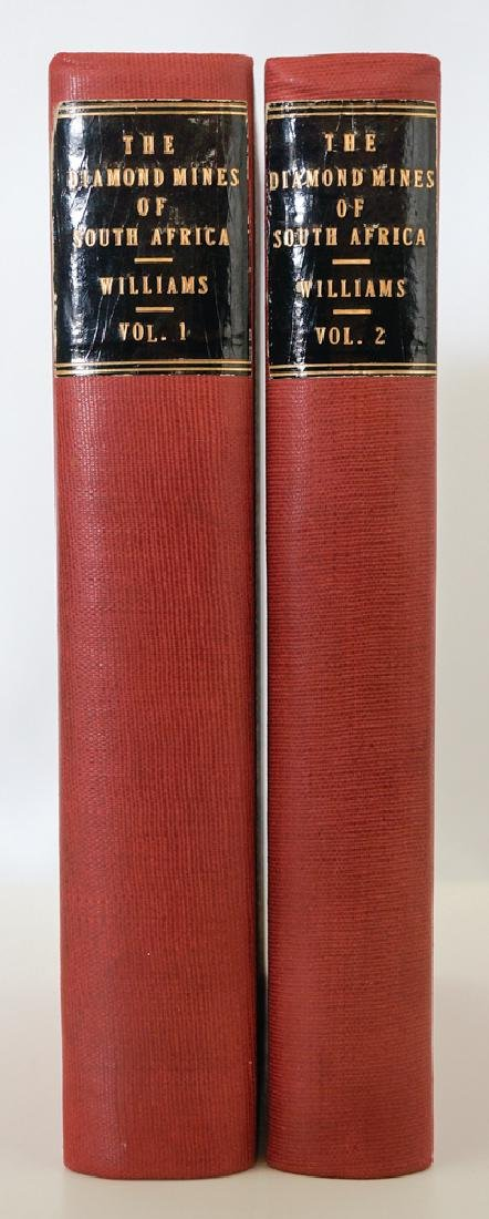 The Diamond Mines of South Africa, 1905, Two Vol's - 2
