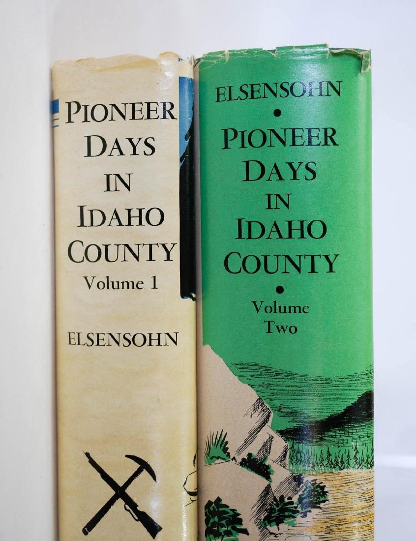 Pioneer Days in Idaho County, Vol. I&II Signed