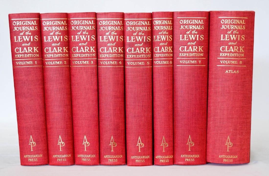 Lewis and Clark Original Journals, Vol. 1-8