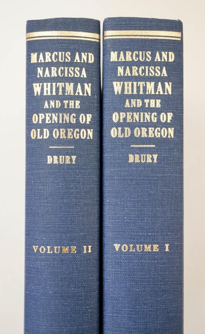 Marcus and Narcissa Whitman & Opening of Oregon