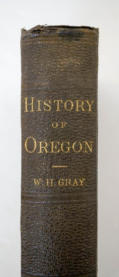 History of Oregon by W.H. Gray