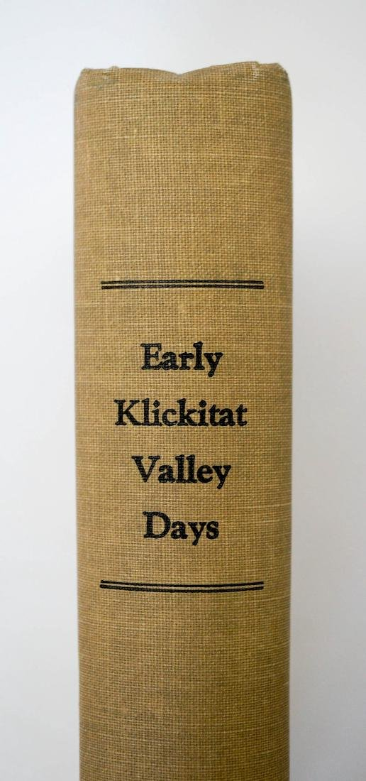 Early Klickitat Valley Days by Robert Ballou