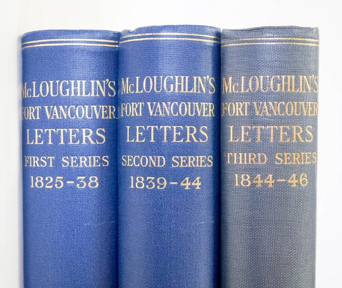 McLoughlin's Fort Vancouver Letters (3 volume set)