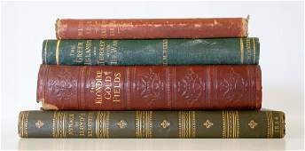 Group of Four Antique Books