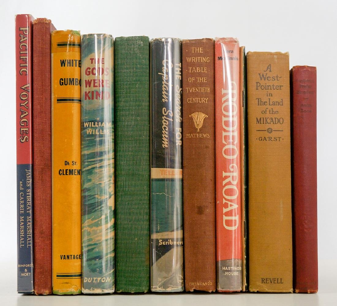 Group of Ten Vintage Books