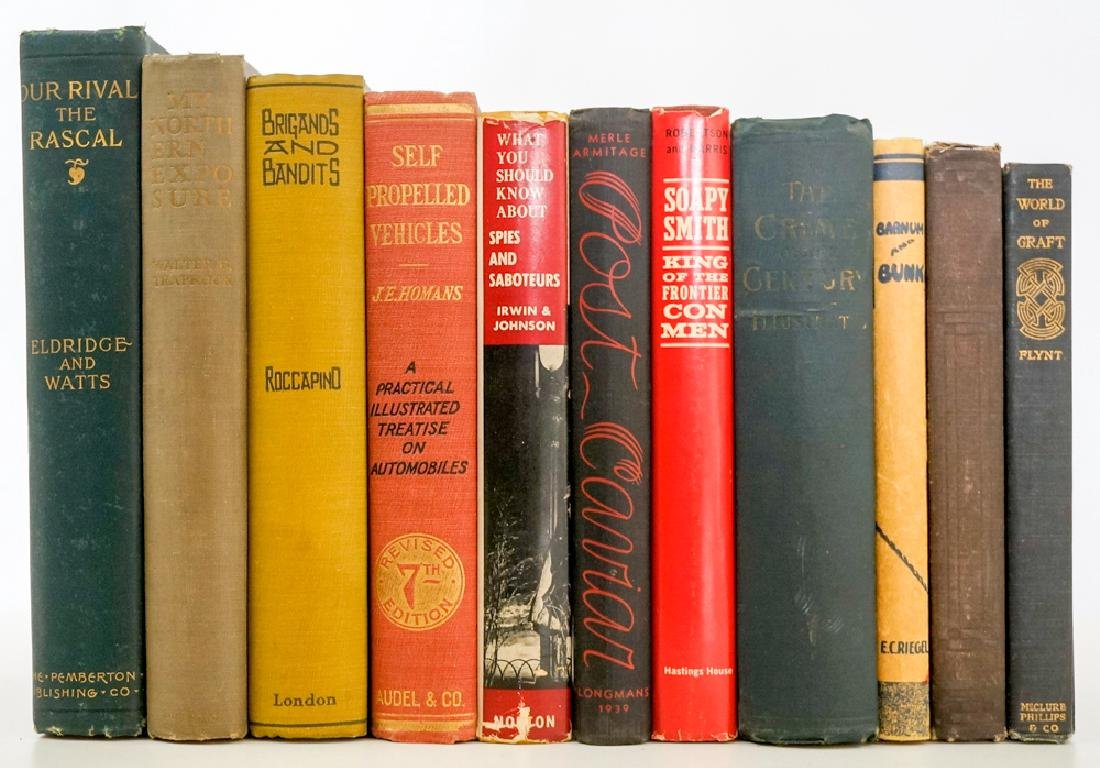 Group of Eleven Vintage Books