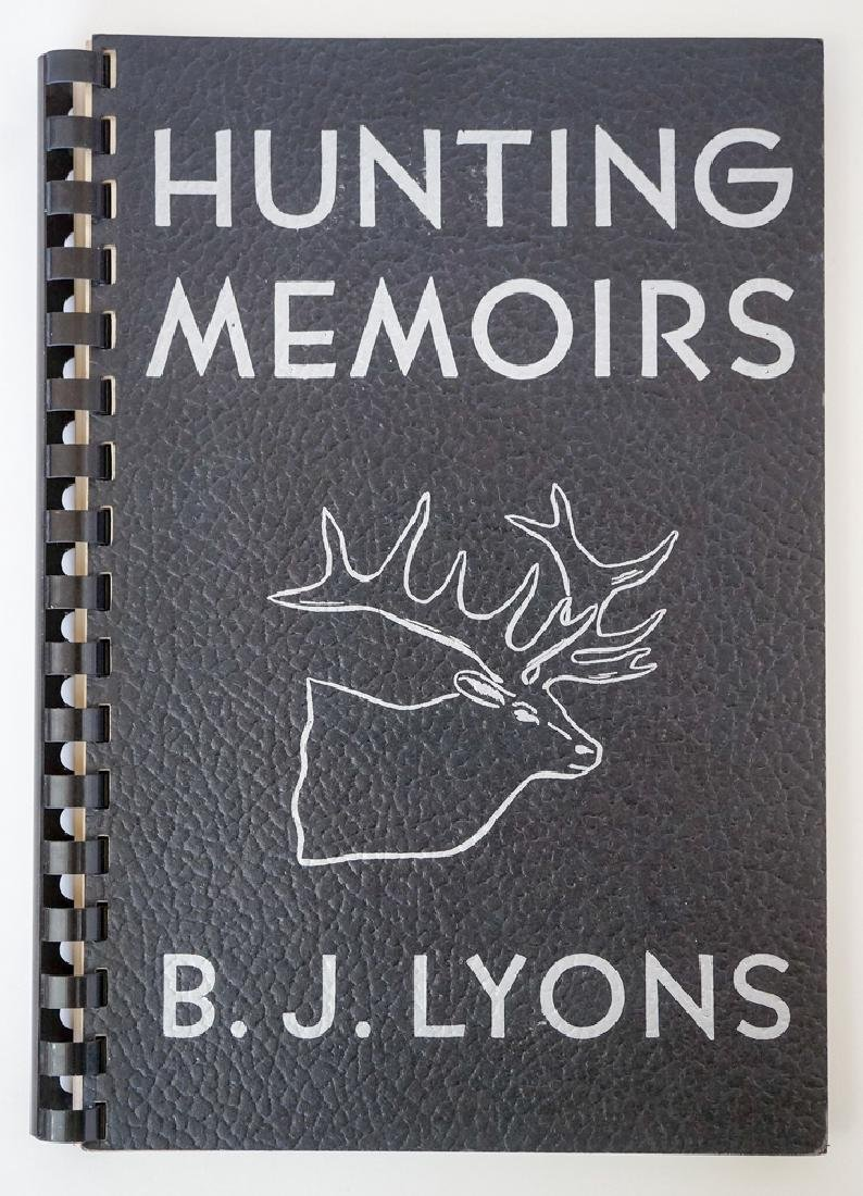 Hunting Memoirs by B. J. Lyons, 1951