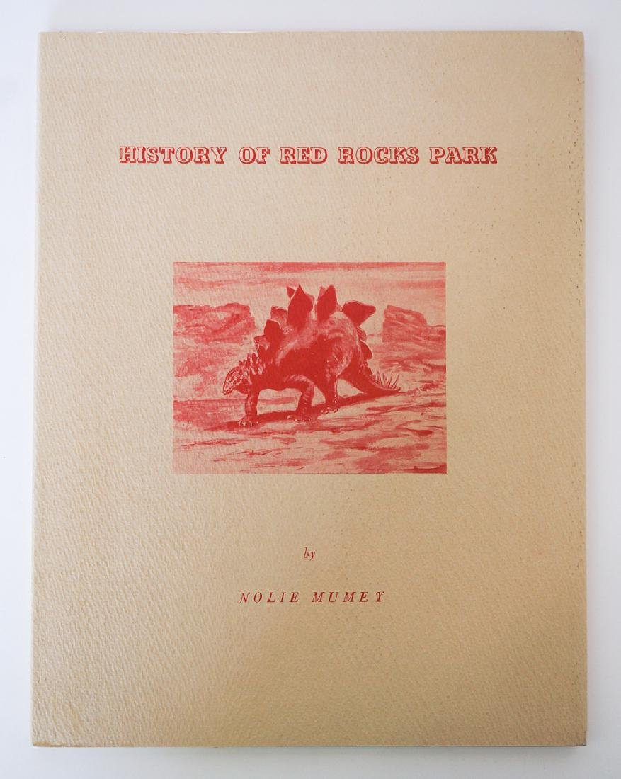 History of Red Rocks Park by Nolie Mumey