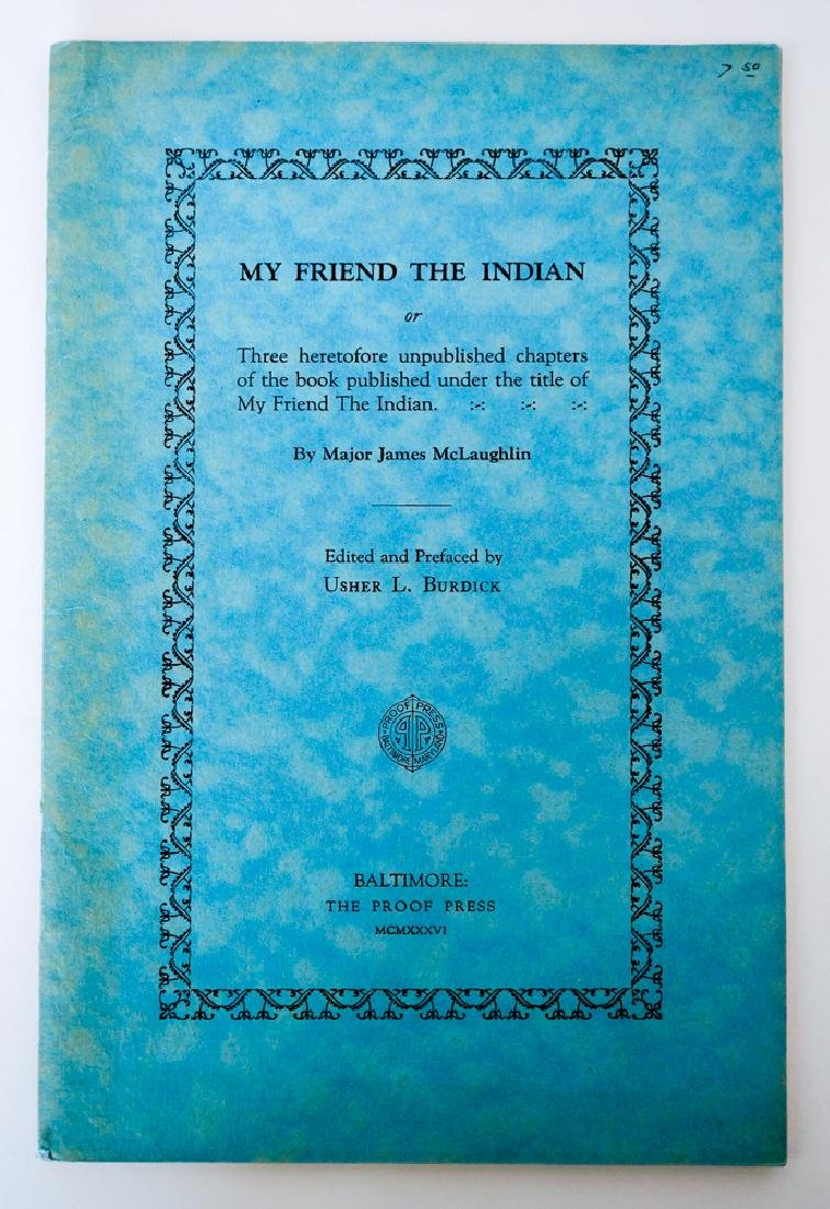 My Friend the Indian by Major James McLaughlin