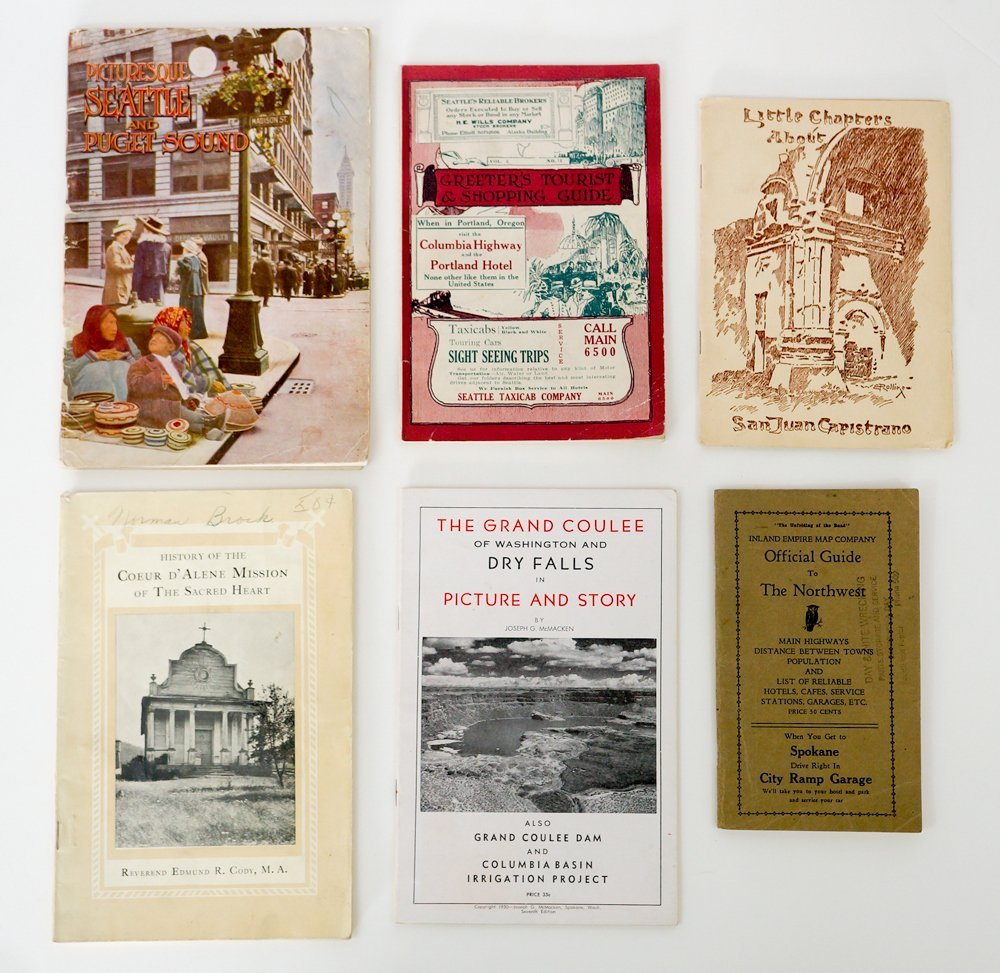 Group of Six Inland NW Booklets.