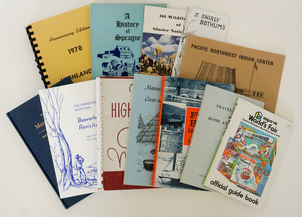 Group of Twelve Inland NW Booklets.