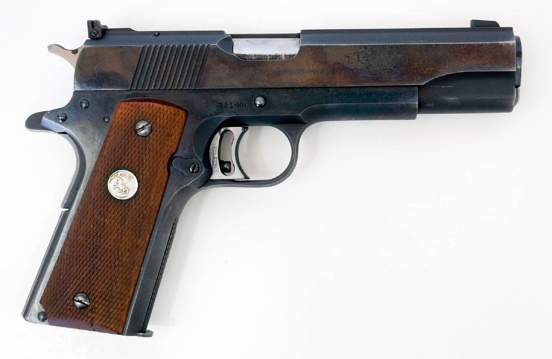 Colt 1911 .45 National Match Pistol